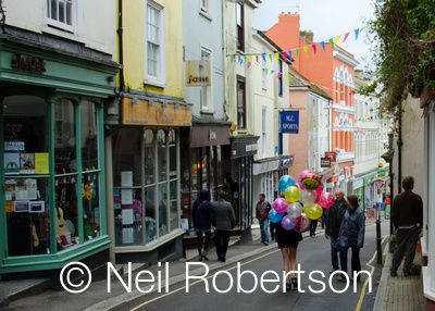 Balloons, Falmouth, 2013, photo by Neil Robertson