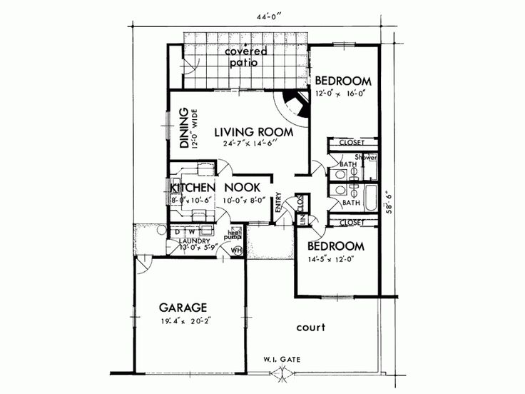 13 Best House Plans Images On Pinterest House Floor