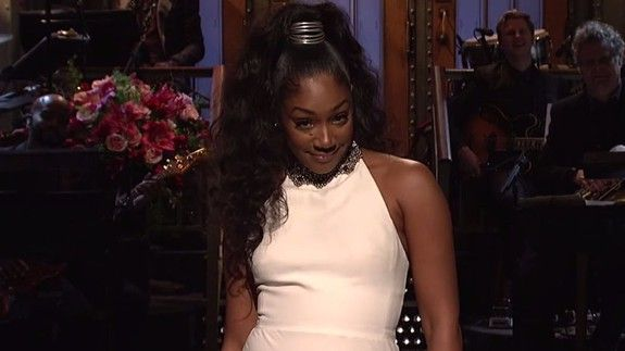 Tiffany Haddish crushed her hilarious SNL monologue and she made history in the process