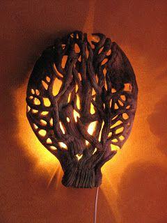 Életfa lámpa Nemes Tímea Izabellától.
