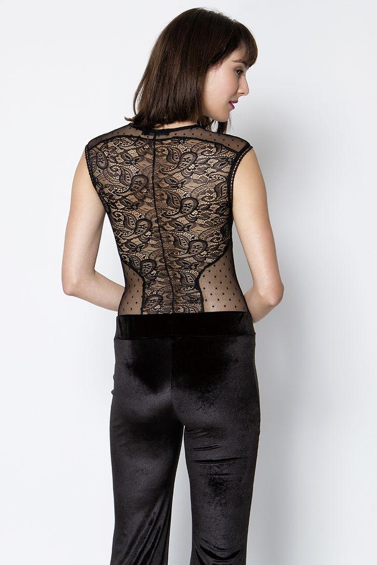 Lace Κορμάκι - ΡΟΥΧΑ -> Μπλούζες | Made of Grace