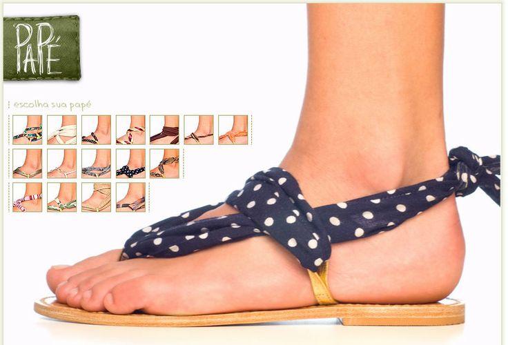 Grosgrain: Inspiration 22 - DIY Sandals