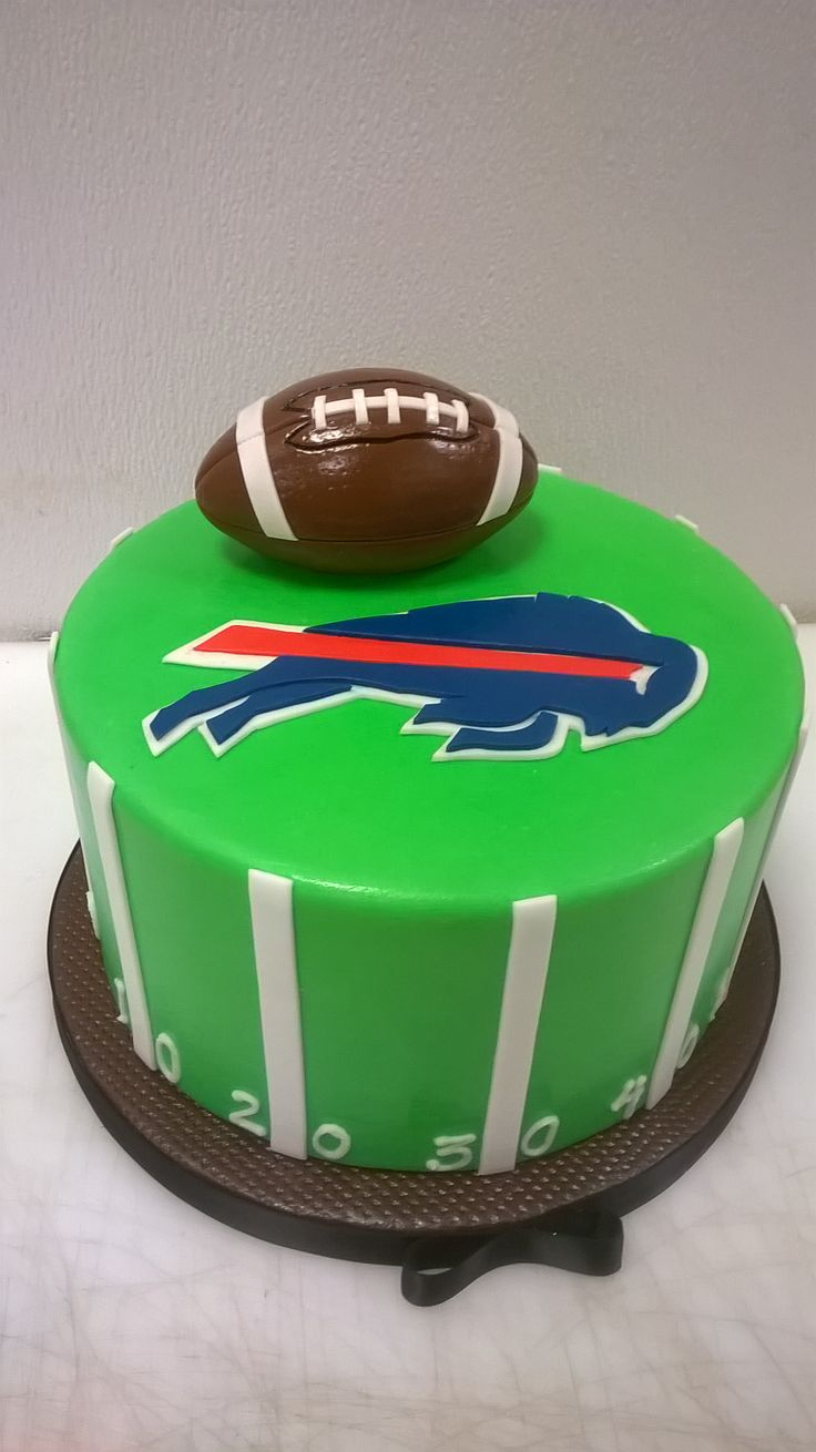 1000 Images About Buffalo Bills Cakes On Pinterest Car