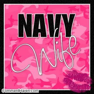 Navy Wife Pink Camo Picture