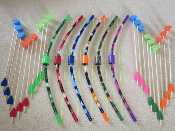 Bows and Arrows for kids | party favors | fun for children | safe play | plastic toy archery sets