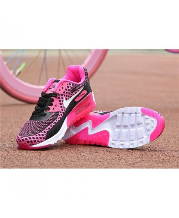 this Nike Air Max 90 Knit Black White Pink is loved buy my girl friend.