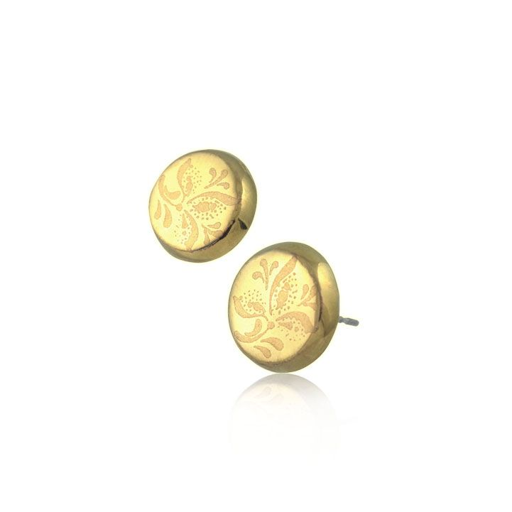 """EARRING  """"SIMPLE GOLD"""" made by ZEMA"""