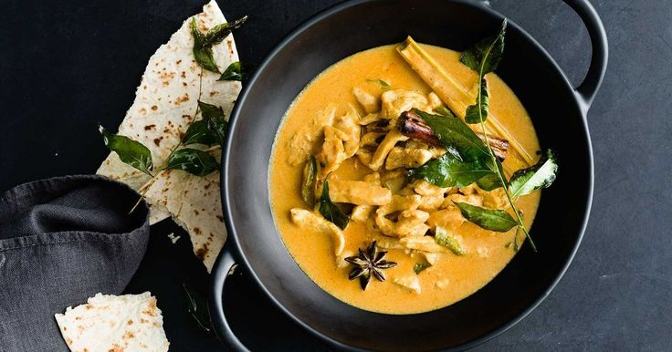 A creamy chicken curry that will be on the dinner table in just 17 minutes.
