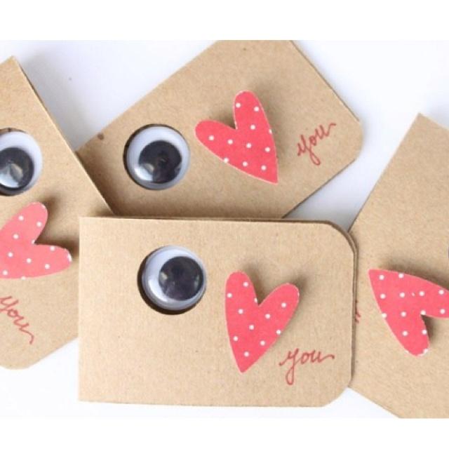 Eye ❤ U cards