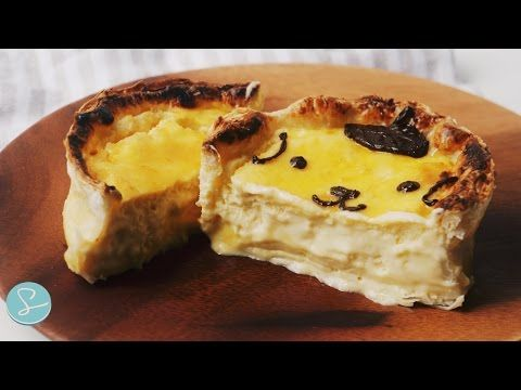 Baked Cheese Tart Recipe - Sumopocky | Handcrafted Bakes