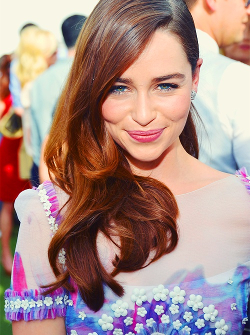 Beautiful Hair Color Emilia Clarke Ces Cheveux Ce