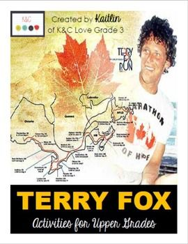 This pack was created for upper grade students, in order to learn more about and gain a greater appreciation for Terry Fox, a Canadian Hero.Each lesson or activity includes a learning goal that is specifically linked to the Ontario Curriculum. Activities/Lessons in this pack include:-Terry Fox Reading: Terrys Early Years-Reading