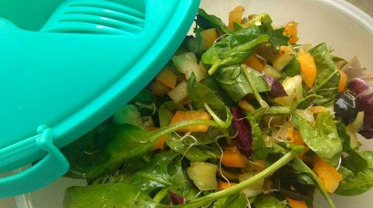 Salad with parsley dressing <3 lunchbox!