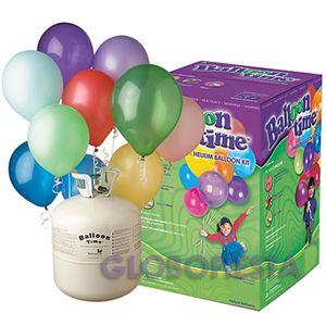 Helio para globos kit desechable 30 | Helio globos, kit desechable, globos qualatex, inflador globos, helio desechable, | globos, globos de ...