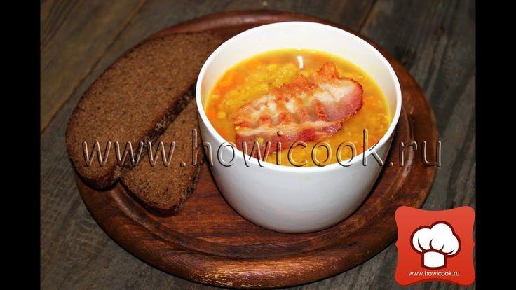 Суп с чечевицей и беконом от Джейми Оливера