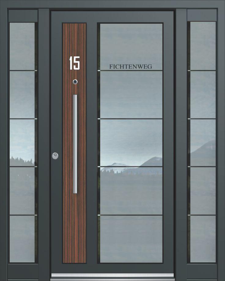 inotherm haust r modell ass 1730 t r mit viel glas preis. Black Bedroom Furniture Sets. Home Design Ideas