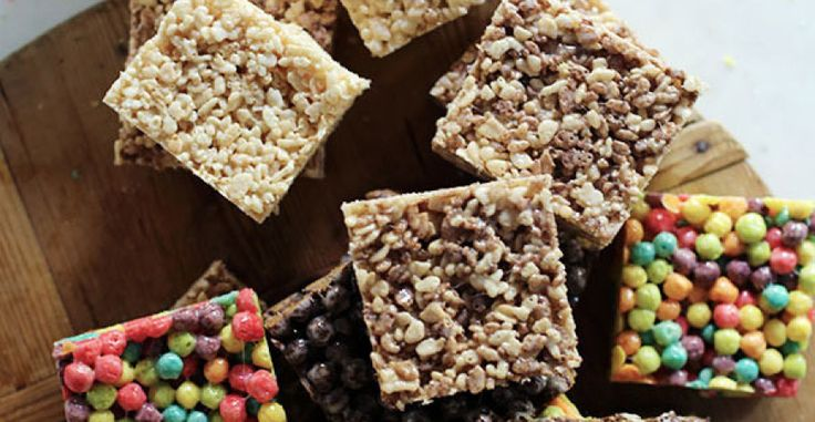 "If you're still reaching for Rice Krispies the next time you whip up marshmallow treats, you could be missing out on some serious fun. Homemade marshmallow cereal bars are a longtime favorite of Waiting On Martha. ""But why have I been using only one type of cereal all these years?"" she asks; hence, these yummy bars were born.  Waiting On Martha experimented with Trix, […]"
