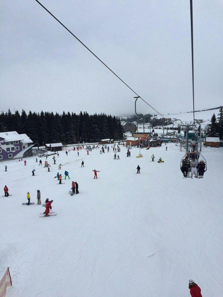 Skiareal Klinovec (ski area) - Vejprty, Czech Republic