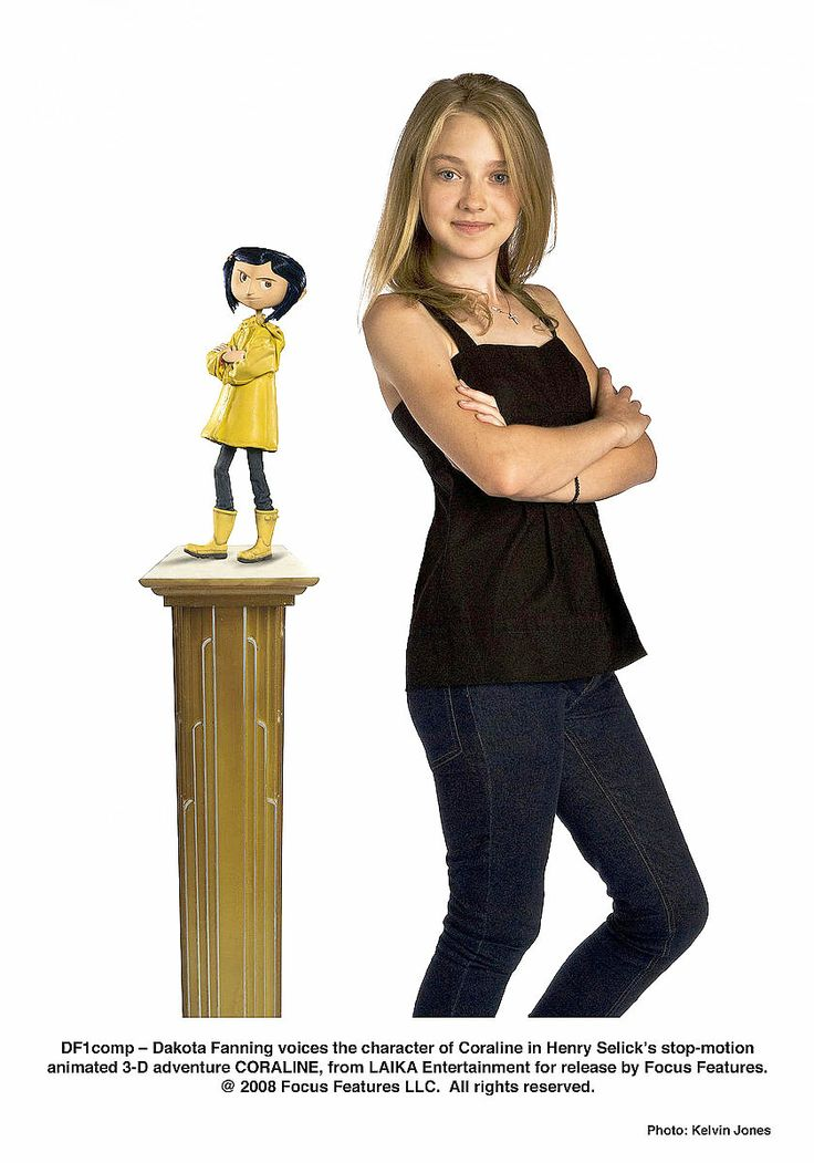 Coraline Dakota Fanning Coraline Movie Coraline Coraline Cast