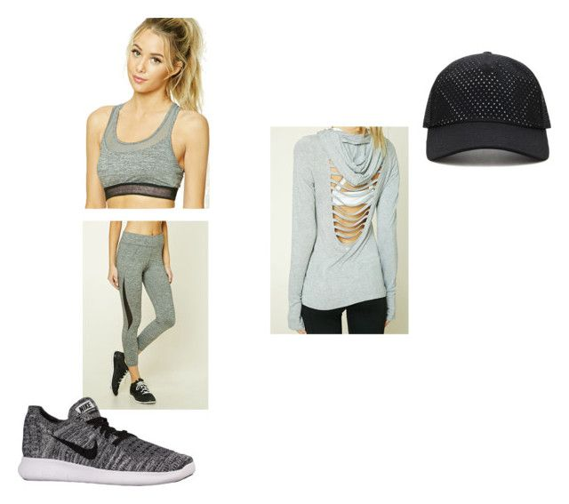 """Untitled #79"" by rosiepotter on Polyvore featuring Forever 21 and NIKE"