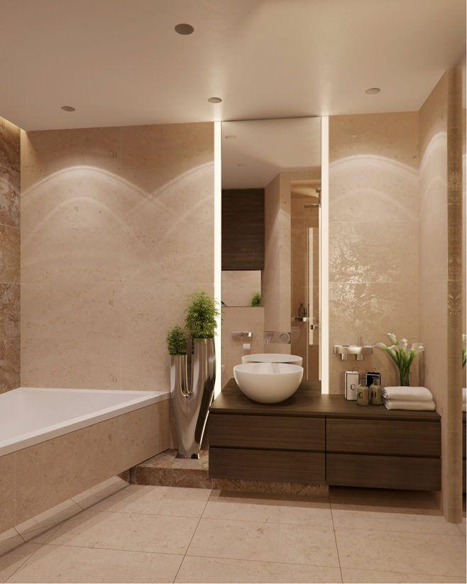 Большая ванная комната в стиле минимализм. Роскошь и функциональность в деталях и аксессуарах. #стиль_минимализм #дизайн_ванной_комнаты