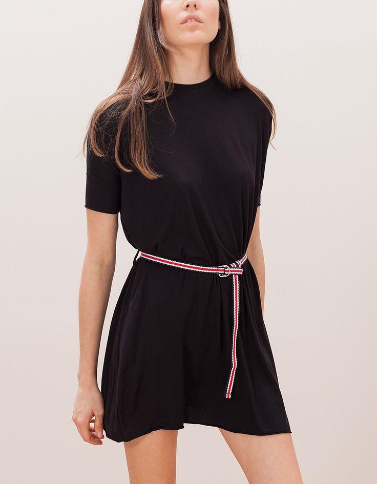 Vestito corto cintura