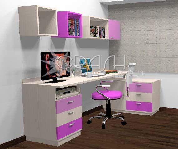 escritorios juveniles decoraci n pinterest