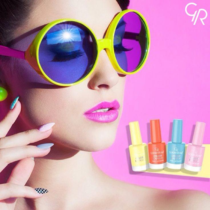 Color Expert yaz renkleri ile plaja inmeye hazırsın! http://www.goldenrosestore.com.tr/color-expert-nail-lacquer.html