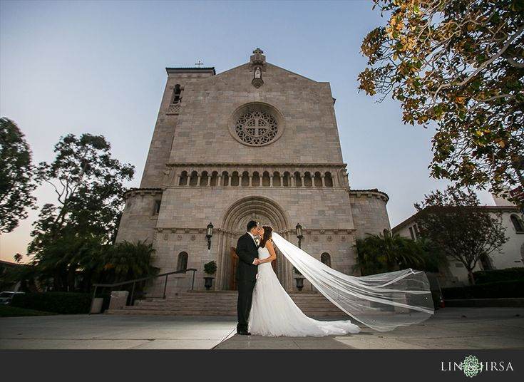 St. Monica Catholic Church Wedding | Warren and Sylvia