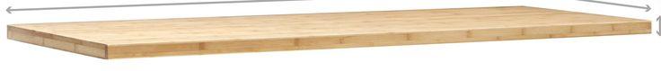 Bold Series Bamboo Worktop