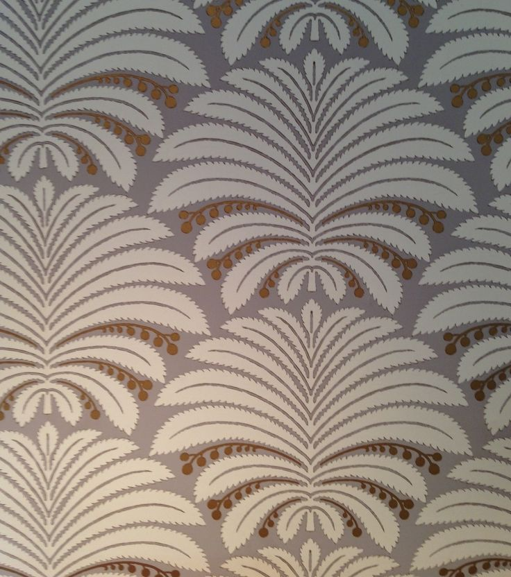 'Palmetto' wallpaper from Hines & Co.