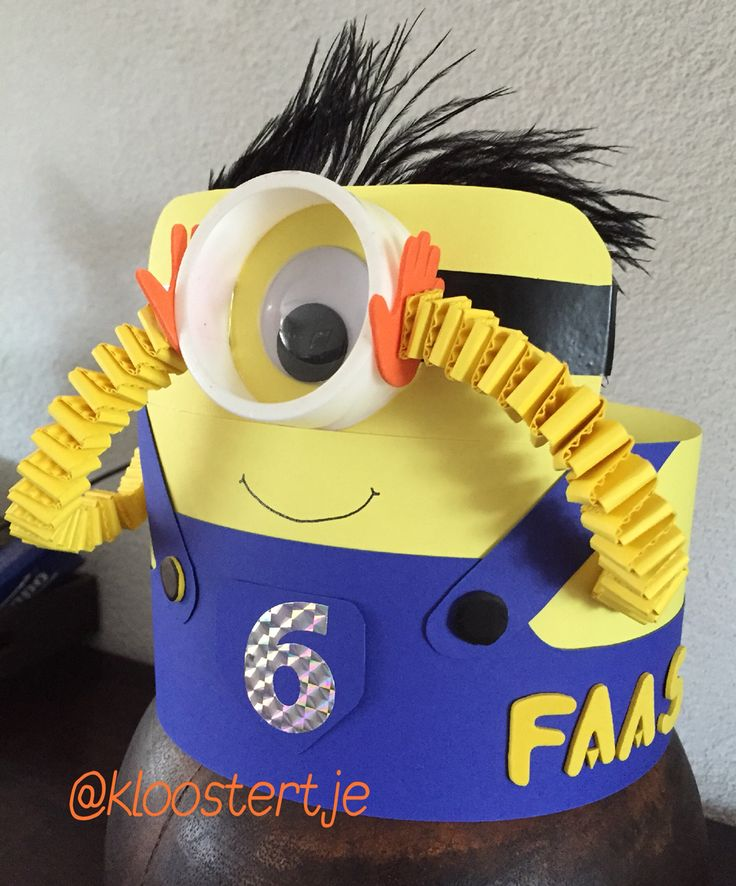 Minion's birthdaycrown