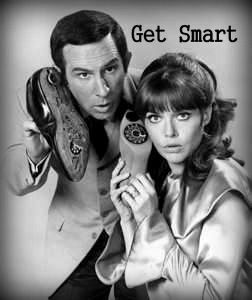 Get Smart TV show -  Don Adams, Barbara Feldon