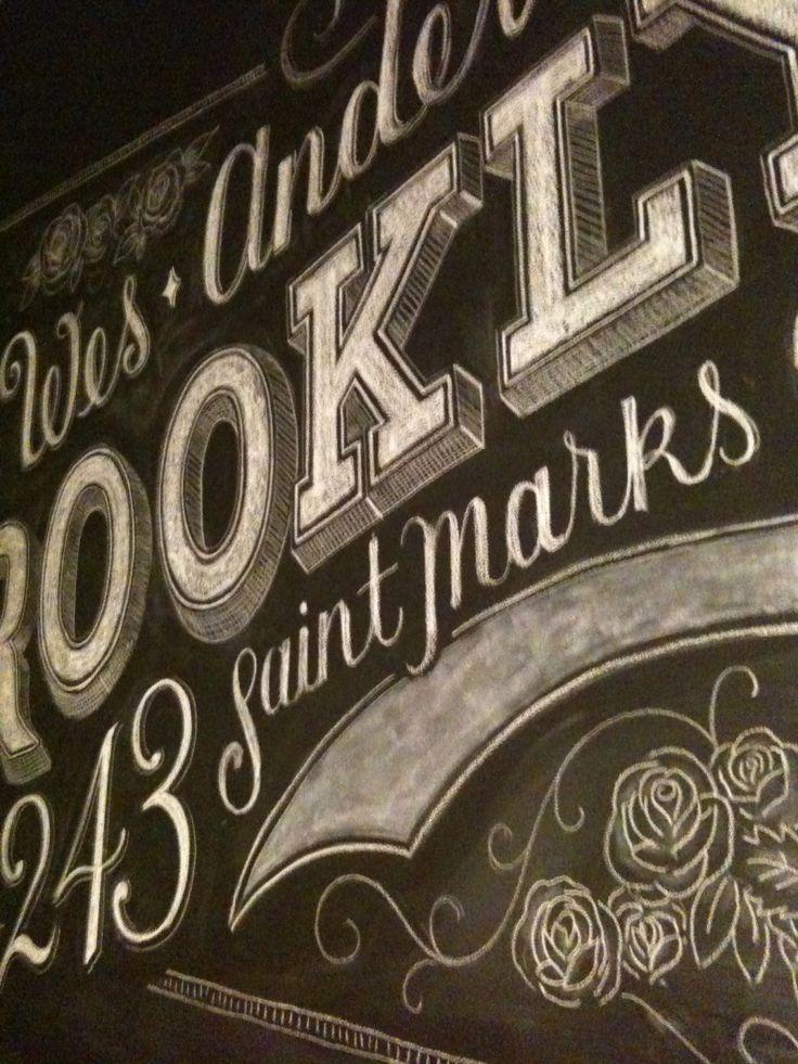 Custom chalk lettering by Dana TanamichiChalkboards Letters, Chalk Lettering, Chalk Letters, Chalkboards Signage, Graphics Design, Chalkboards Art, Hands Drawn, Chalk Art, My Tanamachi