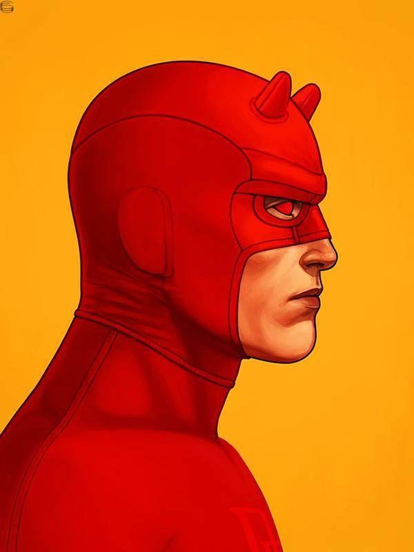 Mike Mitchell x Marvel x Mondo - Daredevil