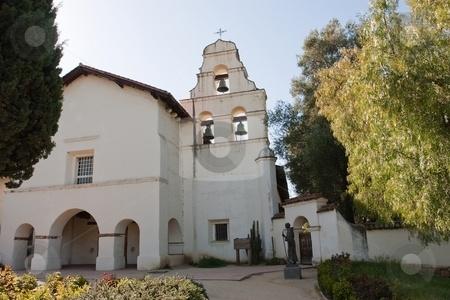 Mission San Juan Bautista- Tower scene from Vertigo filmed here