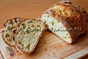 Хлеб на кефире бездрожжевой
