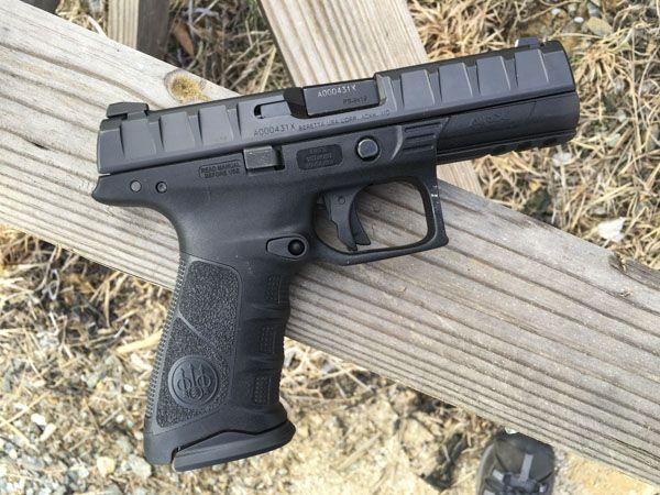 Gun Review: Beretta APX Full-Size Striker Fired Pistol ...
