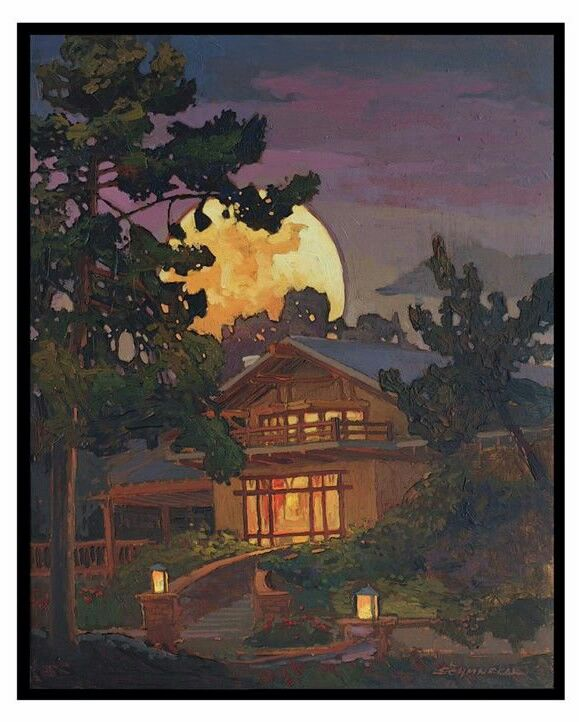 Jan Schmuckal - The Lodge At Torrey Pines - Bill Evans' (owner of hotel) holiday card for Christmas 2013 - Craftsman - Greene & Greene - Bungalow