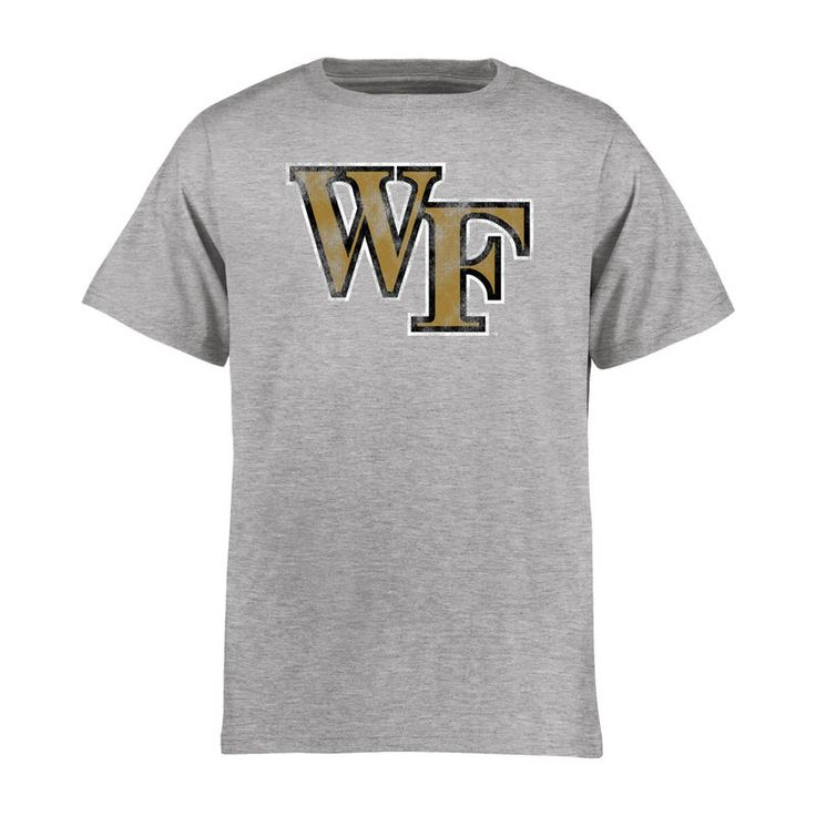 Wake Forest Demon Deacons Youth Classic Primary T-Shirt - Ash