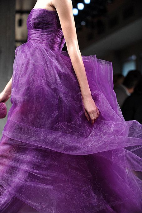 This brilliant purple hue from Bottega Veneta reminds us of the amethysts used in the Sovereign Collection.