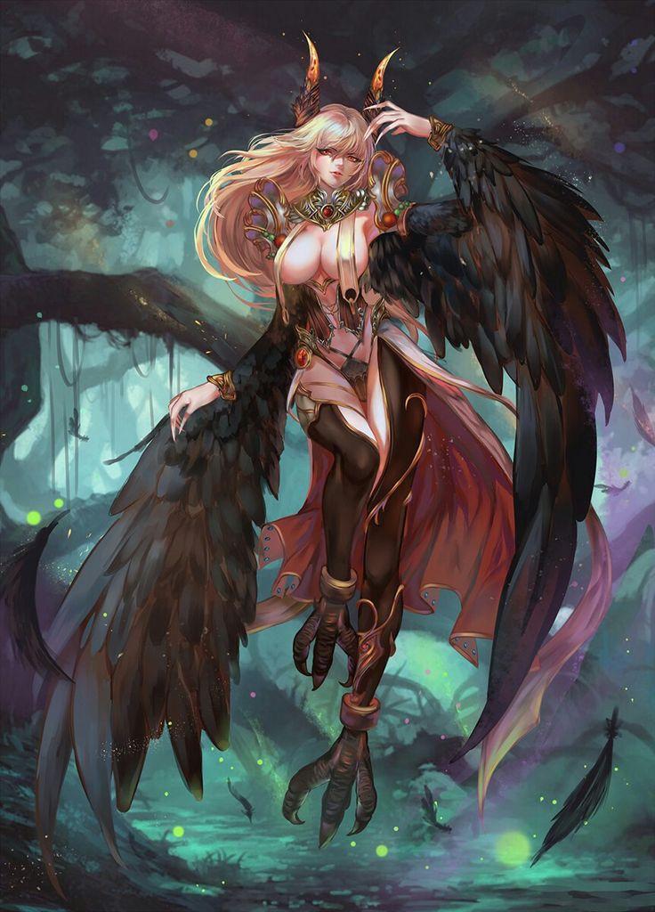 Sexy Harpy / Birdwoman