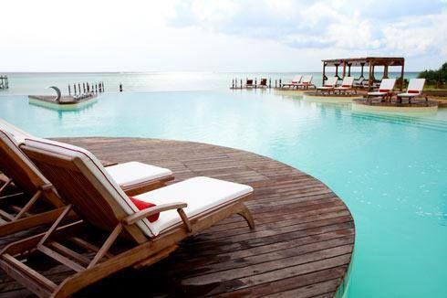 Sit back, relax, and breathe in the Indian Ocean air - Essque Zalu Zanzibar #Africa #Tanzania #Zanzibar #beach