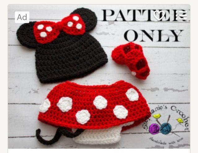 Mejores 34 imágenes de Crochet - Photo props en Pinterest | Bebé de ...