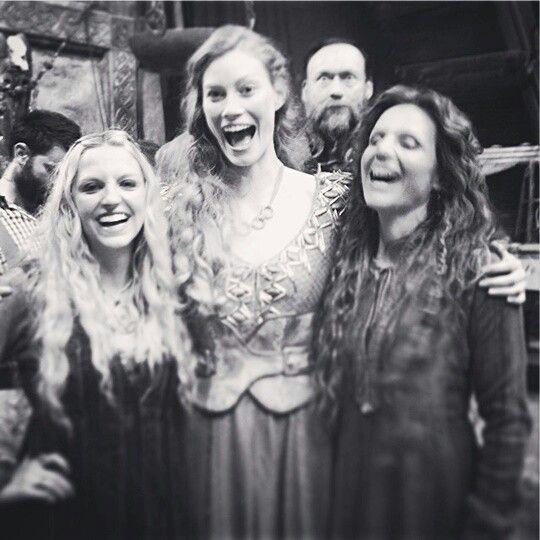 Helga, Aslaug, The Wander, and Siggy