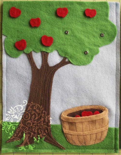 I love this apple tree page!