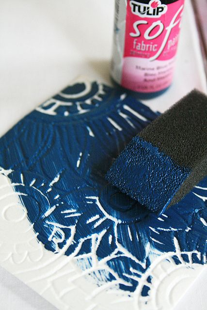 """If you haven't heard of scratch foam then you are missing out! It is basically a thin piece of soft styrofoam that can be scratched and """"carved"""" into with simple tools"""