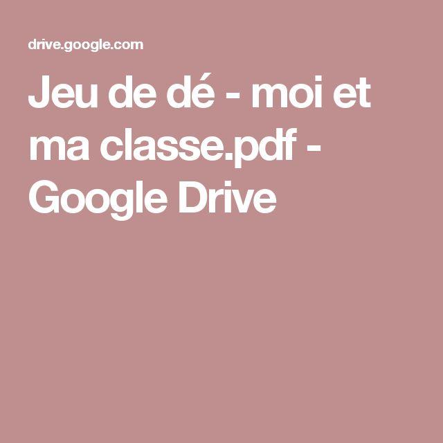 Jeu de dé - moi et ma classe.pdf - GoogleDrive