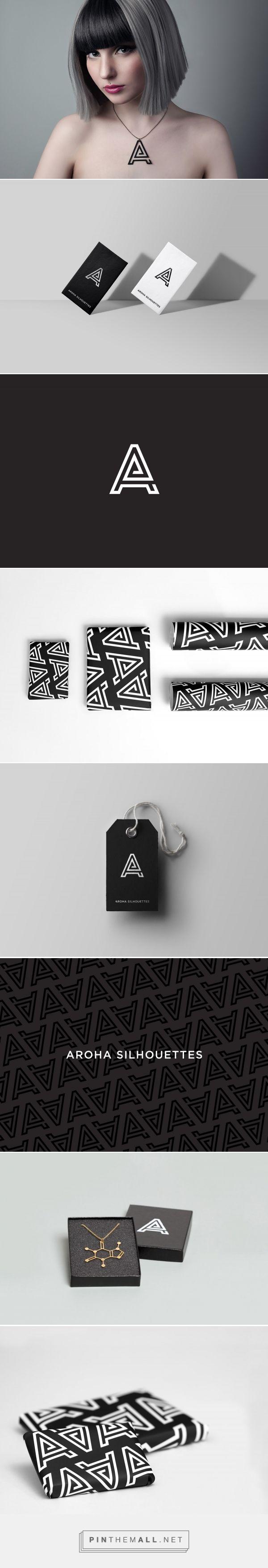 Aroha Silhouettes Branding by We Are Branch   Fivestar Branding – Design and Branding Agency & Inspiration Gallery http://jrstudioweb.com/diseno-grafico/diseno-de-logotipos/