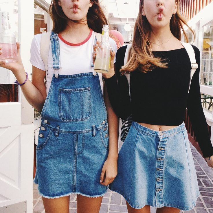 "Brandy Melville on Instagram: ""#brandyusa Denim Overall Skirt"""